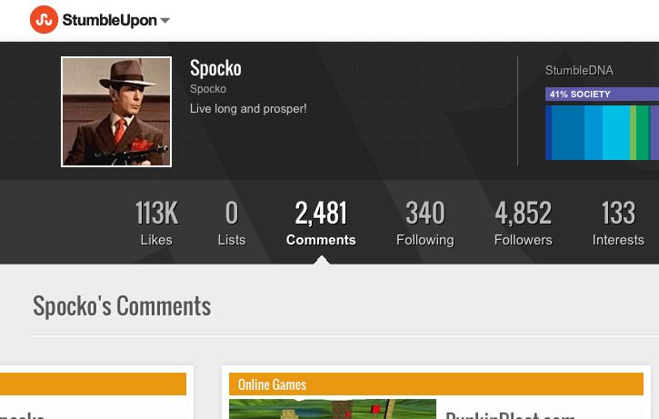 Spocko - Top User