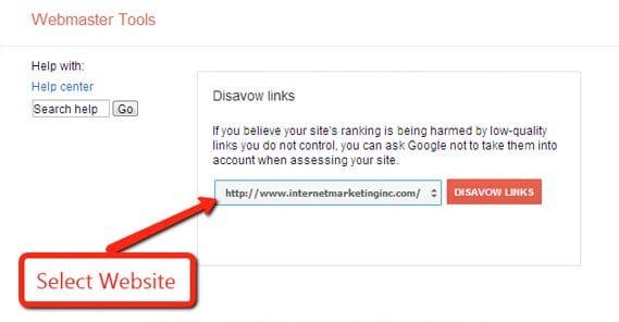 Disavow Tool in Google
