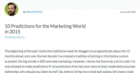 Rand Fishkin Predictions