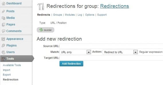 Wordpress Redirections