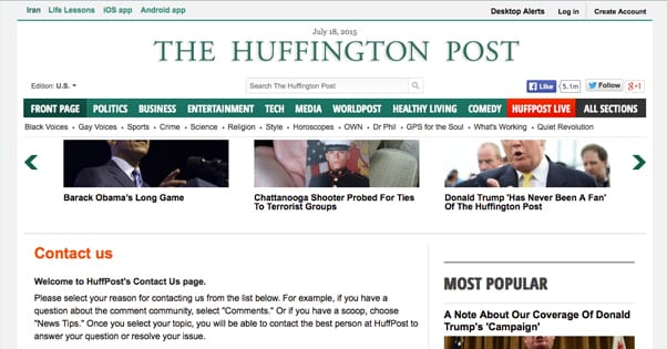How to Guest Post for Large Sites like The Huffington Post