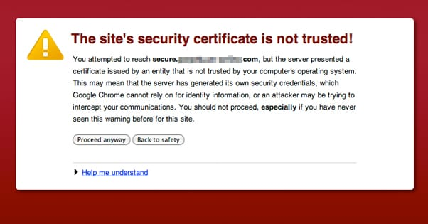 SSL Required