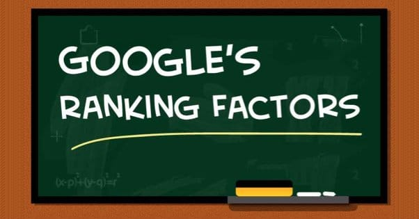 Googles Ranking Factors Metrics