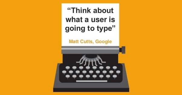 Think About What a User is Going to Type