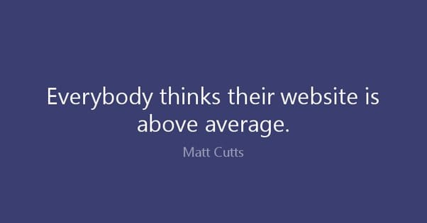 Website Above Average