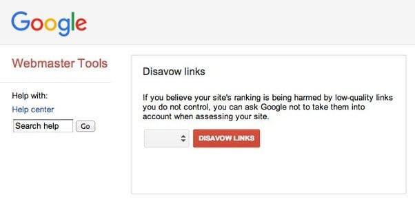 Google Disavow List
