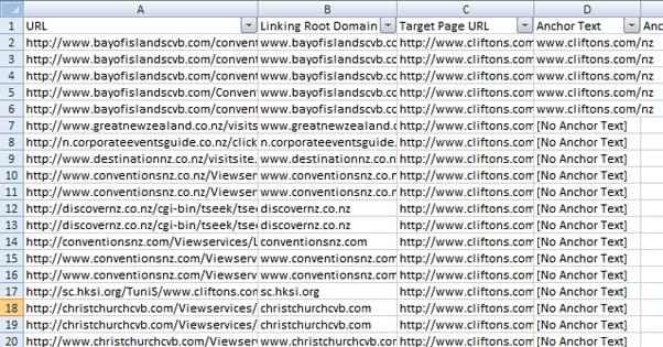 Link Audit Excel