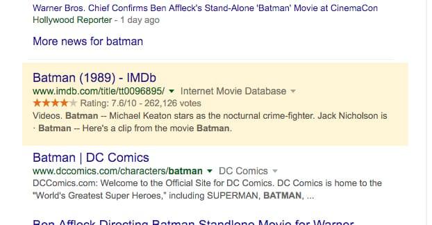 Schema on Google