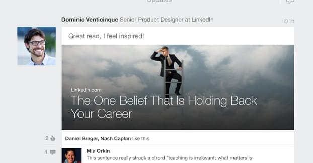 Article on LinkedIn