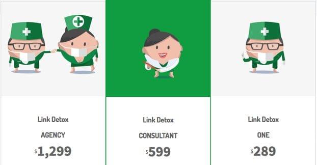 Link Detox Pricing