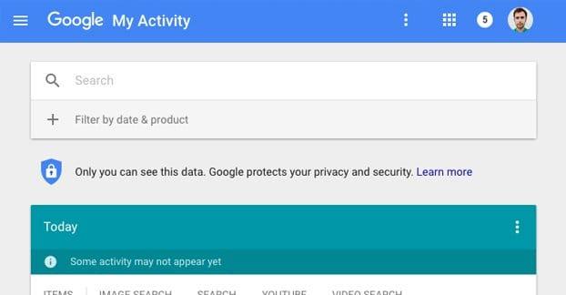Google Activity Example