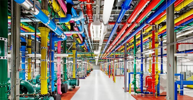 Google Datacenter Photo