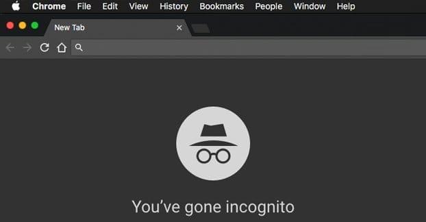 Incognito Mode Screenshot