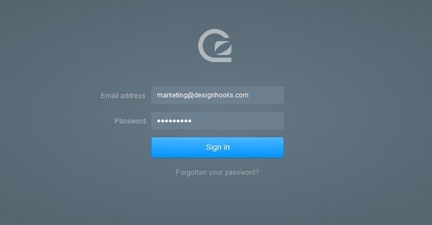 Secure Login Page