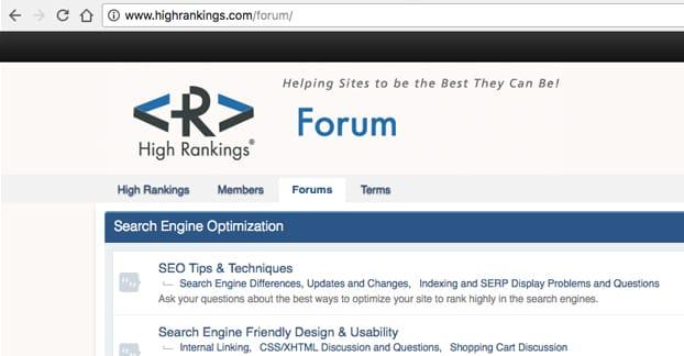 Subfolder Forums