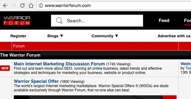 WarriorForums.com