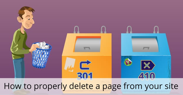 Delete a Page by Website