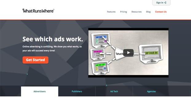 What Runs Where Website