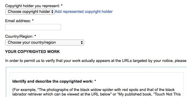 Copyright Trademark Claim