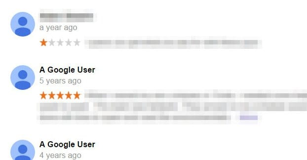 Example 1 Star Review