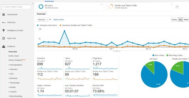 Google Analytics Example