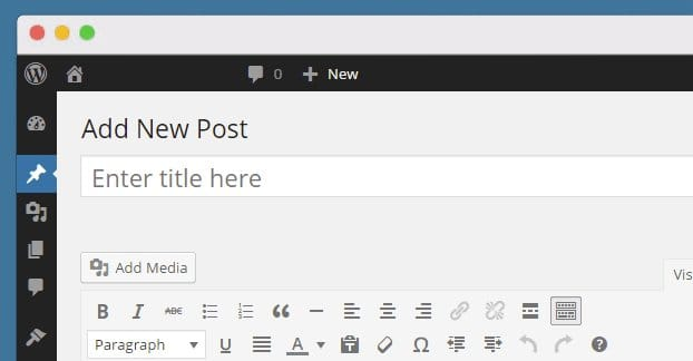 Add a New Post WordPress