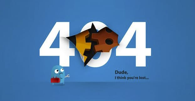 Custom 404 Page Example