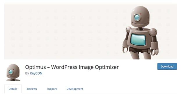 Optimus WordPress Image Optimizer