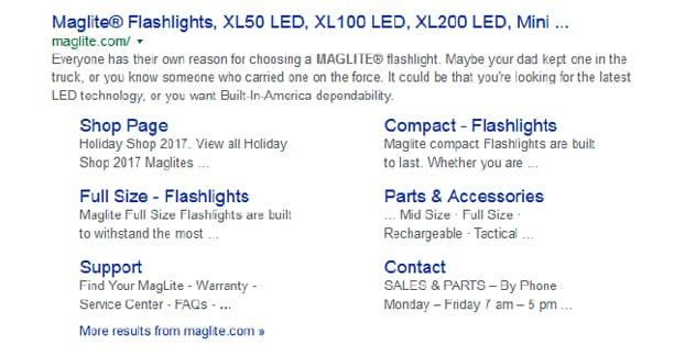 Google Description Length