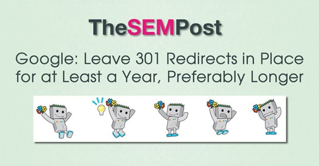 301 Redirects Long Term