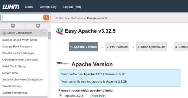 Easy Apache