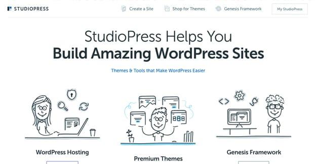 Studiopress Homepage