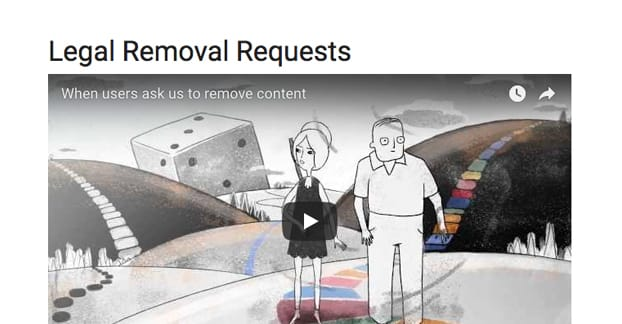 Legal Removal Requests