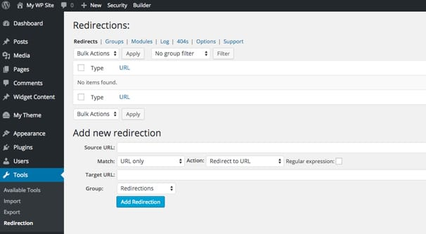 Redirect Entire WordPress Blog