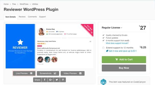 Reviewer Plugin
