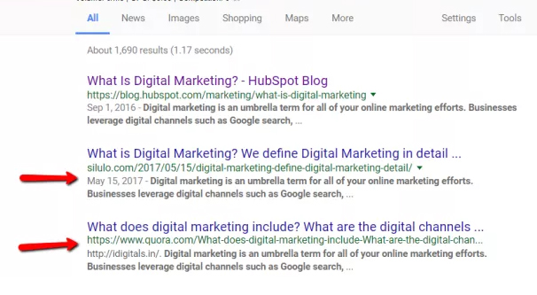 Stolen Content on Google