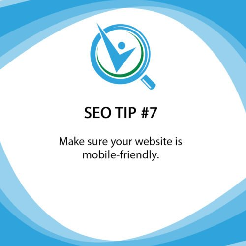 SEO Tip 7 Mobile friendly website