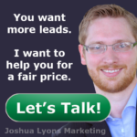 Grow your online marketing for a fair price.