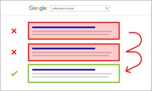 Google Result sample 1