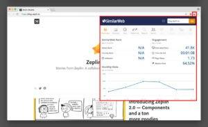 Similar web sample result