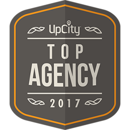 Upcity Top Agency Badge