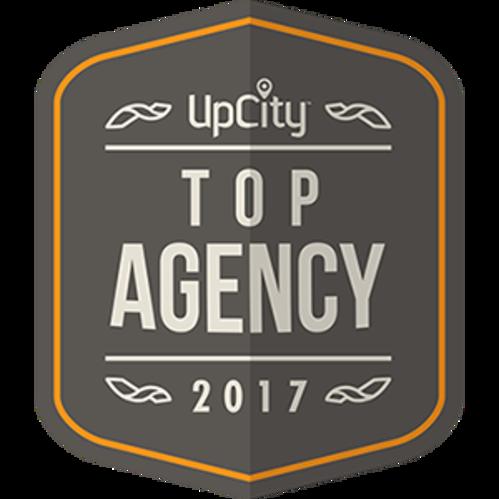 Upcity Top Agency Badge