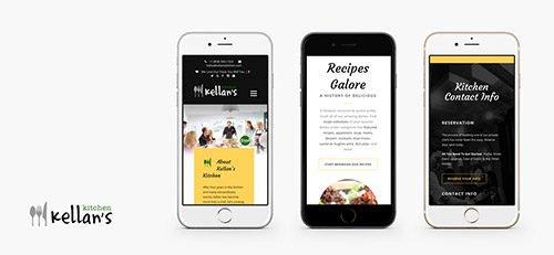 Kellans Kitchen Mobile Concept