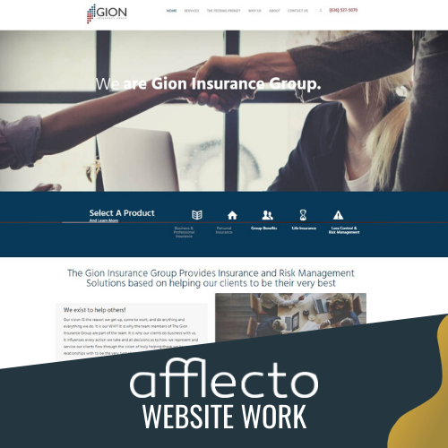 afflecto website work 9