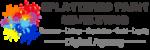 Splattered Paint Marketing Logo