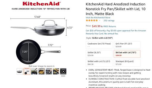 kitchenaid amazon product
