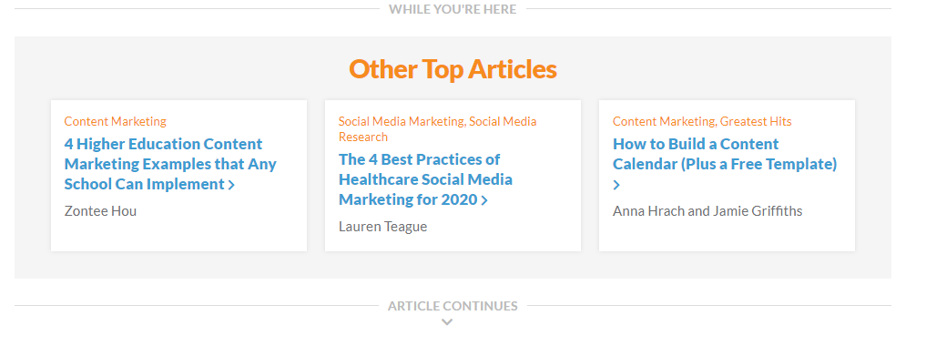 other top articles