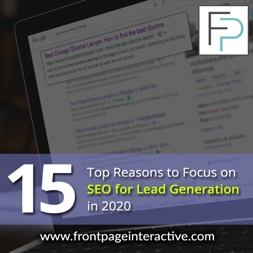 15 top reasons to focus on seo for lead generation in 2020
